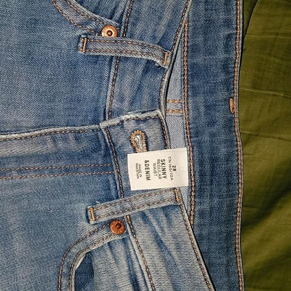 H&M Denim - H&M denim jeans regular waist